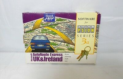 Microsoft AutoRoute Express v1.0 for Psion Series 3/3a/3c (6103-0107-01)