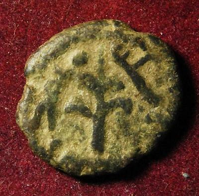 Umayyad caliphs, AE fals, Tabariya/Tiberias mint after 696AD, Walker 606 - RARE!