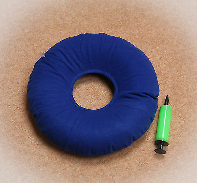 Anti Pressure Sore Prevention/relief Air Ring Cushion With Plastic Pump.