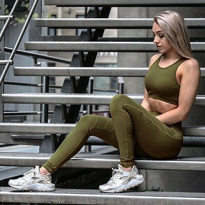 Women Sports YOGA Workout Gym Fitness Leggings Pants Jumpsuit Athletic Clothe