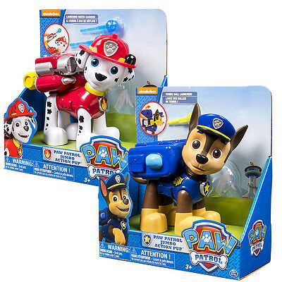 Paw Patrol Jumbo Action Pup Large Dog Kids Figure Doll Marshall Chase Toy Gift