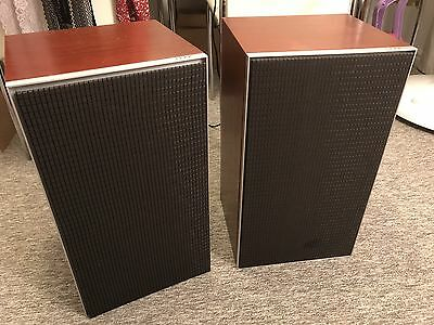 Rare Leak Sandwich 250 Stereo Hifi Speakers Vintage Made In England