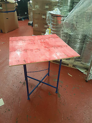 "32"" PLASTERING & MORTAR STAND WITH SPOT BOARD - Sealed Top - FREE P & P"