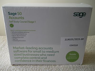Sage 50 Accounts - Self study course - Stage 1