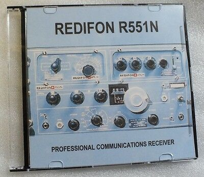 Redifon R551N - DVD - Professional HF Communications Receiver Radio - Shortwave