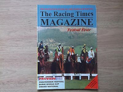 """the Racing Times"" Magazine Issue 1 May 1996"