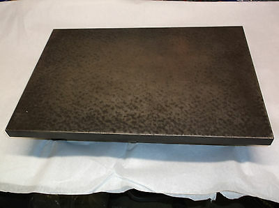 "Cast Iron Machinist Inspection Surface Plate for Bench Table Top 12"" x 18"" x 4"""