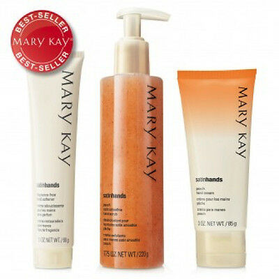 Mary Kay Peach Satin Hands® Pampering Set Gift Set For Soft & Smooth hand cream