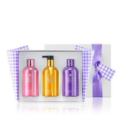 Molton Brown Limited Edition 3-Piece Shower Gel & Hand Wash Gift Set (3 x 300ml)