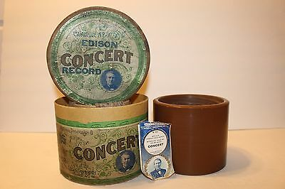 Edison Concert Cylinder- #b 445 - Ben Hur Chariot Race March - Whistling Solo !