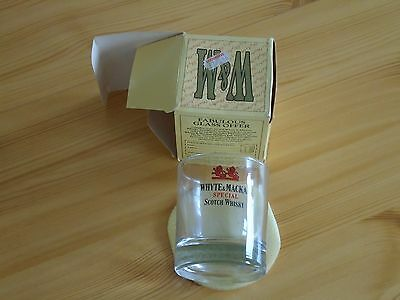 Vintage Whyte And Mackey Special Scotch Whiskey Glass.boxed.liquorsave