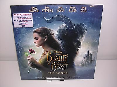 Ariana Grande/various - Beauty & The Beast Soundtrack Blue Lp Mint (Pre-Order)