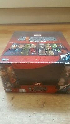 Topps marvel missions trading cards full sealed box