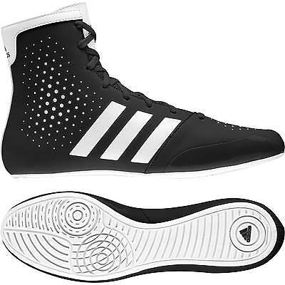 Adidas Boxing KO Legend 16.2 Boxing Boots - Black White