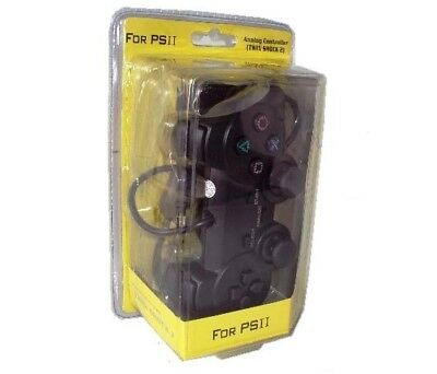 LinQ® PS2TW Analog Controller PlayStation II Twin Shock 2 für PS 2