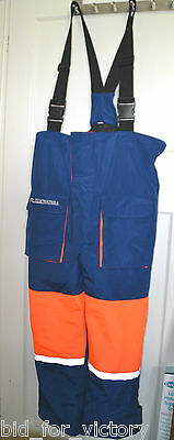 "Shakespeare Tidewater Flotation Boat Fishing Brace Trousers Suit Large L 42"" 107"