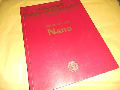 Ad&d-Manuale Del Nano-2^ Edizione-Advenced Dungeons & Dragons-2124-Phbr6 Nani