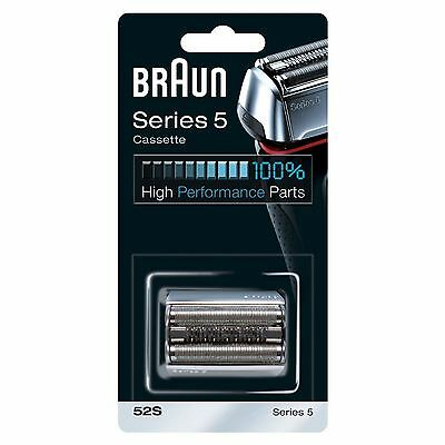 Braun Combi 52S Cassette Replacement Foil & Cutter Pack for Series 5 Men Shavers