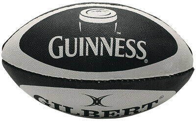 Classic Guinness Design Mini Rugby Ball, Made By Gilbert