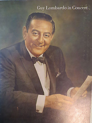 Guy Lombardo 1975 U.s.tour With The Royal Canadiens In Concert Program