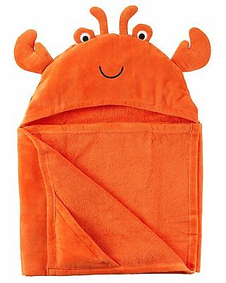 Carter's   Baby Boys' Crab Hooded Towel   MSRP$30.00    OS