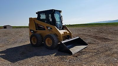 2003 Caterpillar 236 Skid Steer Loader Hydraulics Diesel Cab Cat Quick Coupler