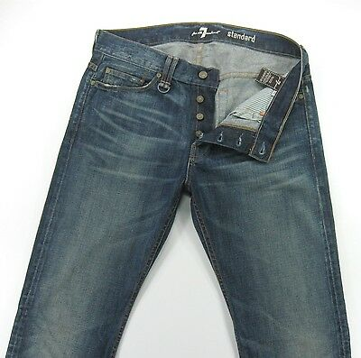 SEVEN 7 FOR ALL MANKIND STANDARD  men's jeans Straight Leg   -  size 32/34