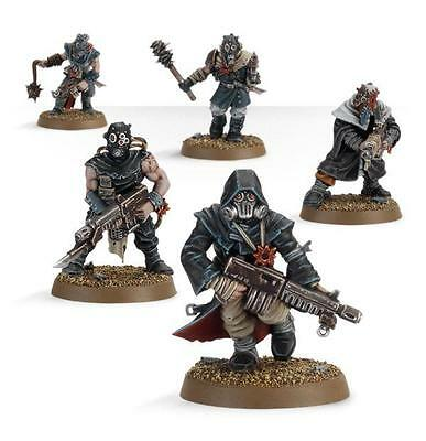 Warhammer 40000/40k - Chaoskultisten/Chaos Cultists (5 fig) - Chaos
