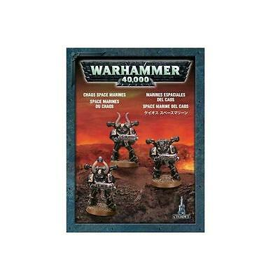 Warhammer 40000/40k - Chaos Space Marines (3 fig) - Chaos