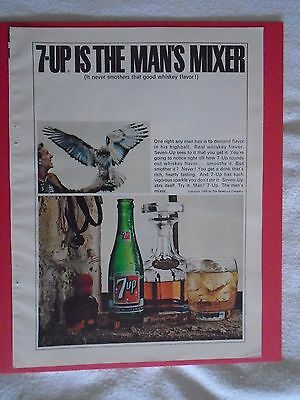 #6 1960's 7-UP Vintage magazine print ad advertisement Seven Up