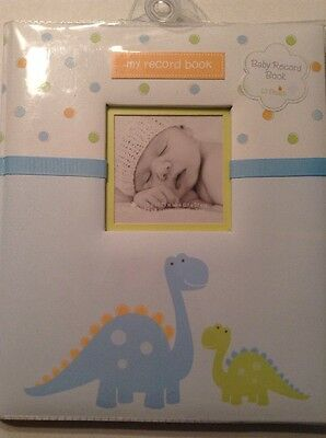 Lil Peach Baby Record Book. Memory Book Dinosaurs