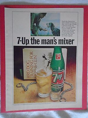 #10 1960's 7-UP Vintage magazine print ad advertisement Seven Up