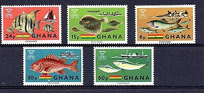 Ghana (7581)  1966 Freedom From Hunger set Unmounted Sg420-4