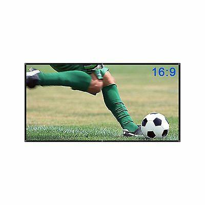 Yokkao 100'' Projection Screen 16:9 Portable and Collapsible Wall/Ceiling... New