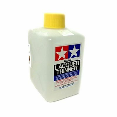 TAMIYA DILUENTE LACQUER THINNER PER COLORE, STUCCO E PRIMER 250 ml ART 87077