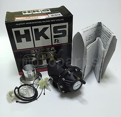 Brand new Universal HKS BOV SQV 4 SSQV IV Turbo Blow Off Valves JDM black color