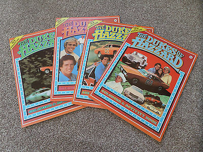 The Dukes of Hazzard - 4 x Unused Vintage 1981 Coloring & Activity Books RARE!