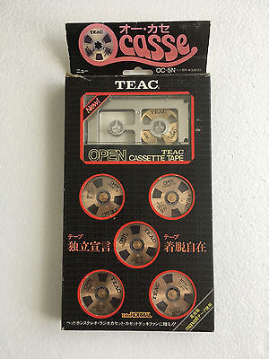 TEAC OCASSE Open Reel Cassette OC-5N. Used, RARE For collectors.Made in Japan