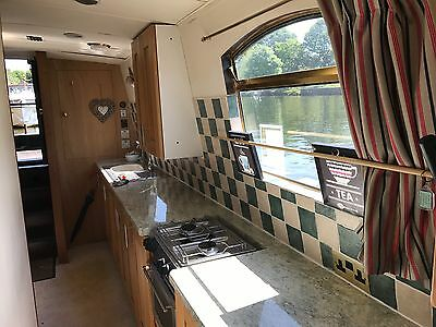 45x10 widebeam Narrowboat Replica barge houseboat live aboard just surveyed