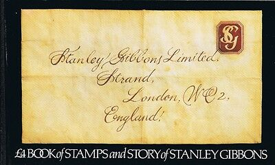 GB £4 Story of Stanley Gibbons Booklet, Scott #BK146, VFM-NH CV $20, Face V £4