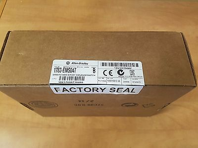 Allen-Bradley 1783-EMS04T Stratix 6000 4 Port Managed Switch