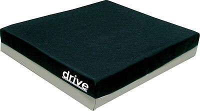"""Drive Medical Deluxe Skin Protect Gel """"E"""" 3"""" Wheelchair Seat Cushion: 18"""" x 16"""""""