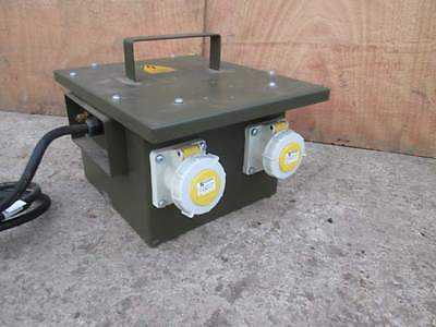 TRANSFORMER - 110 VOLTS -  1-5 Kva  MADE IN ENGLAND ( NEW )