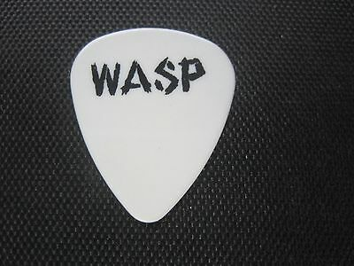 """W.A.S.P. Blackie Lawless """"1986 Inside The Electric Circus"""" RARE guitar pick"""