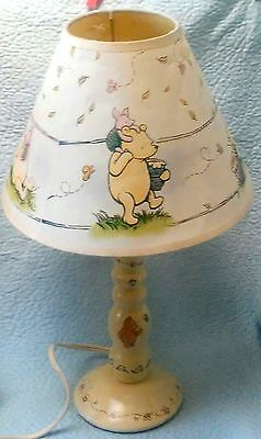Disney Classic Winnie The Poo & Piglet Honey Pot Lamp with Matching Shade*