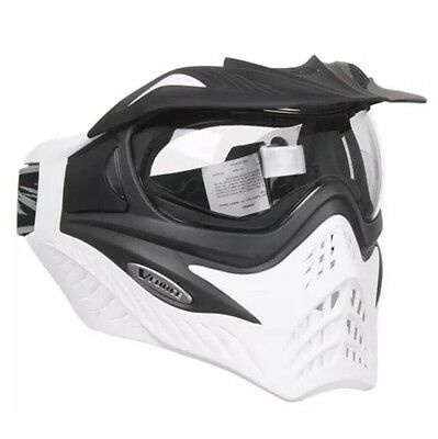 V-FORCE Grill Thermal Lense Paintball Mask / Goggles - WHITE