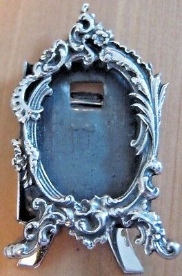Beautiful Hallmarked Solid Sterling Silver Rococo Style Picture Photo Frame