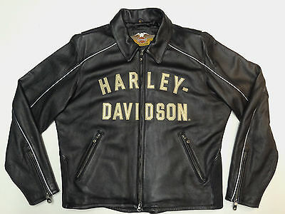 HARLEY DAVIDSON LIMITED ED 100th ANNIVERSARY LEATHER JACKET COAT MENS XL     107