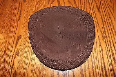 Men's Brown Kangol Driving Cap - Size XX/Large - New With Tags
