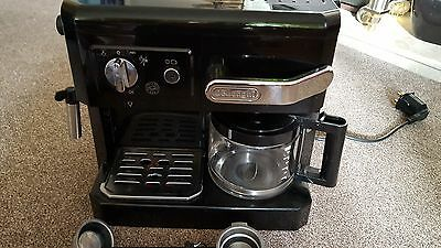 DeLonghi BCO 410 10 Cups Coffee & Espresso Combo - Black